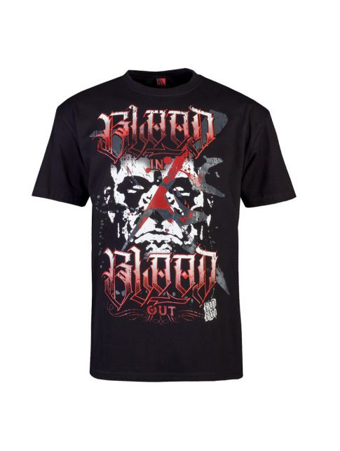 Blood men STONE face T-shirt