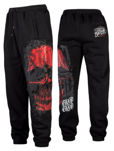 Blood in Blood Out Red Calaveral Sweatpants