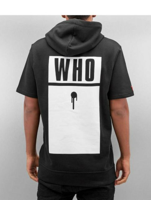 Who shot Ya? Hoody MEN half-sleeve