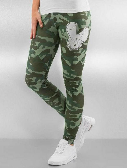 Who Shot Ya? Sisco Logo Leggings Camo
