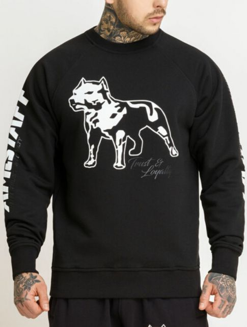 Amstaff Mikina LOGO Sweater black